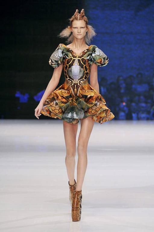 Alexander McQueen Platos Atlantis Dress 2010 For Sale 3