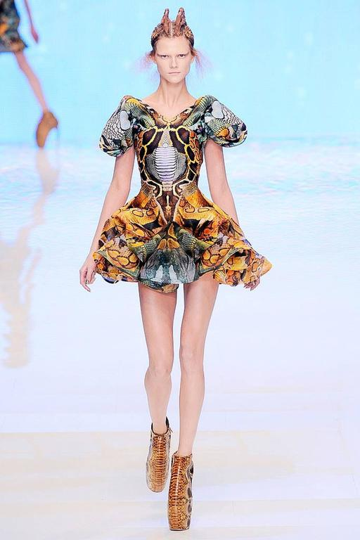 Alexander McQueen Platos Atlantis Dress 2010 For Sale 4