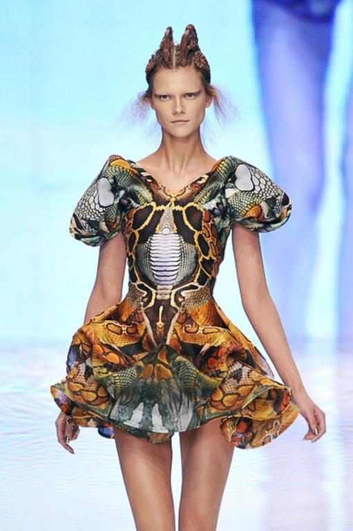 Alexander McQueen Platos Atlantis Dress 2010 For Sale 5