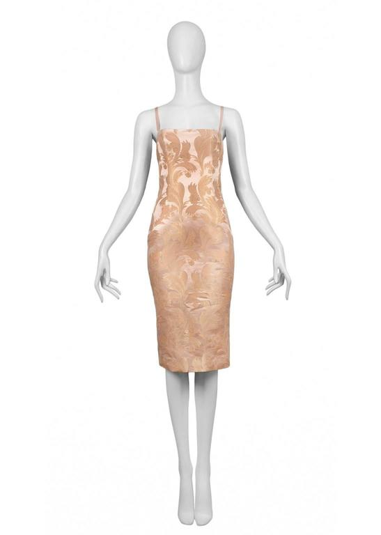 Dolce & Gabbana Blush Corset Dress 3