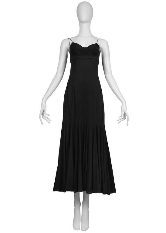 Dolce & Gabbana Slip Dress With Full Skirt 2