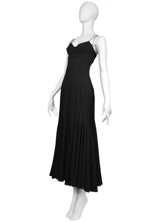 Dolce & Gabbana Slip Dress With Full Skirt In Excellent Condition For Sale In Los Angeles, CA