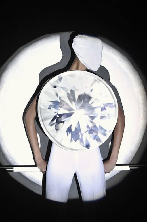 Maison Martin Margiela Artisanal Diamond Top 2009 In Excellent Condition For Sale In Los Angeles, CA
