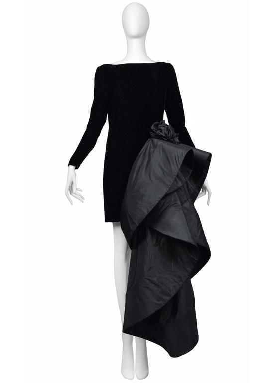 Pierre Cardin Couture Avant Garde Train Gown 2