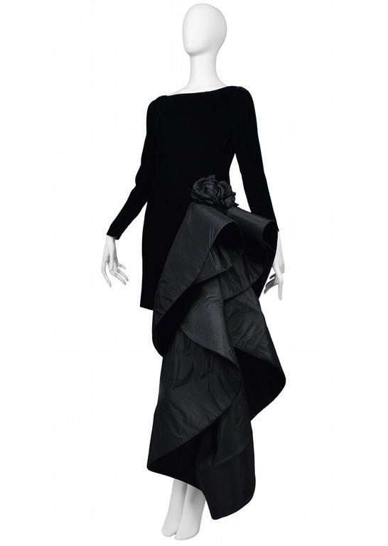Pierre Cardin Couture Avant Garde Train Gown 3