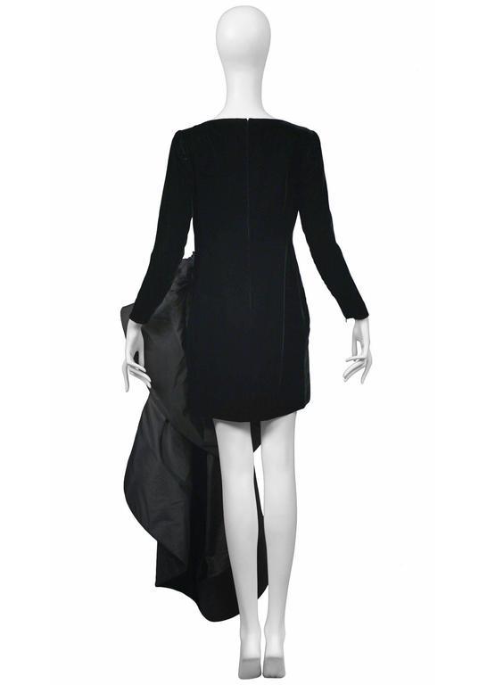 Pierre Cardin Couture Avant Garde Train Gown 4