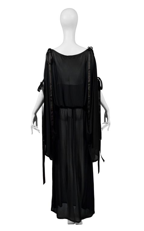 Yves Saint Laurent Sheer Tunic Ensemble 5