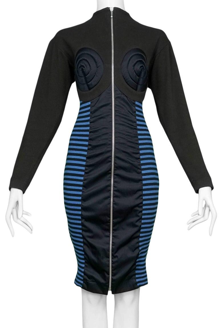 Jean Paul Gaultier Iconic Russian Constructivist Bustier Dress  3