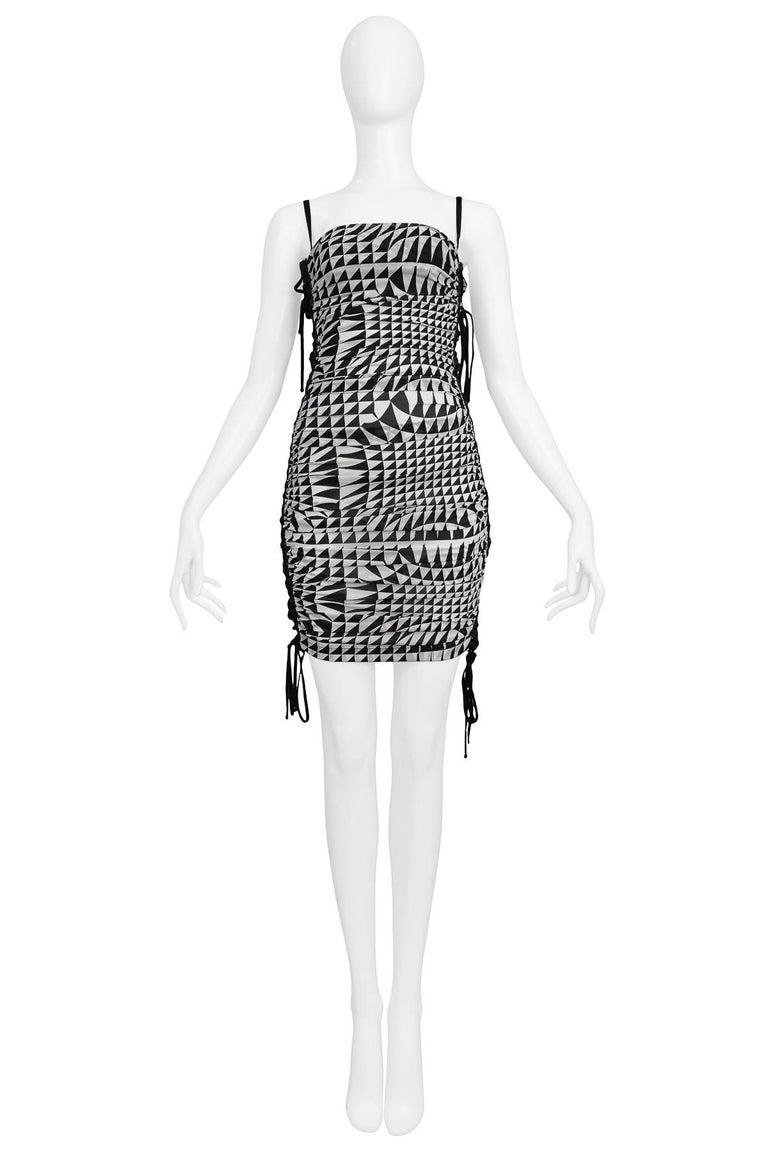 Runway Dolce & Gabbana Harlequin Corset Dress 2003 2