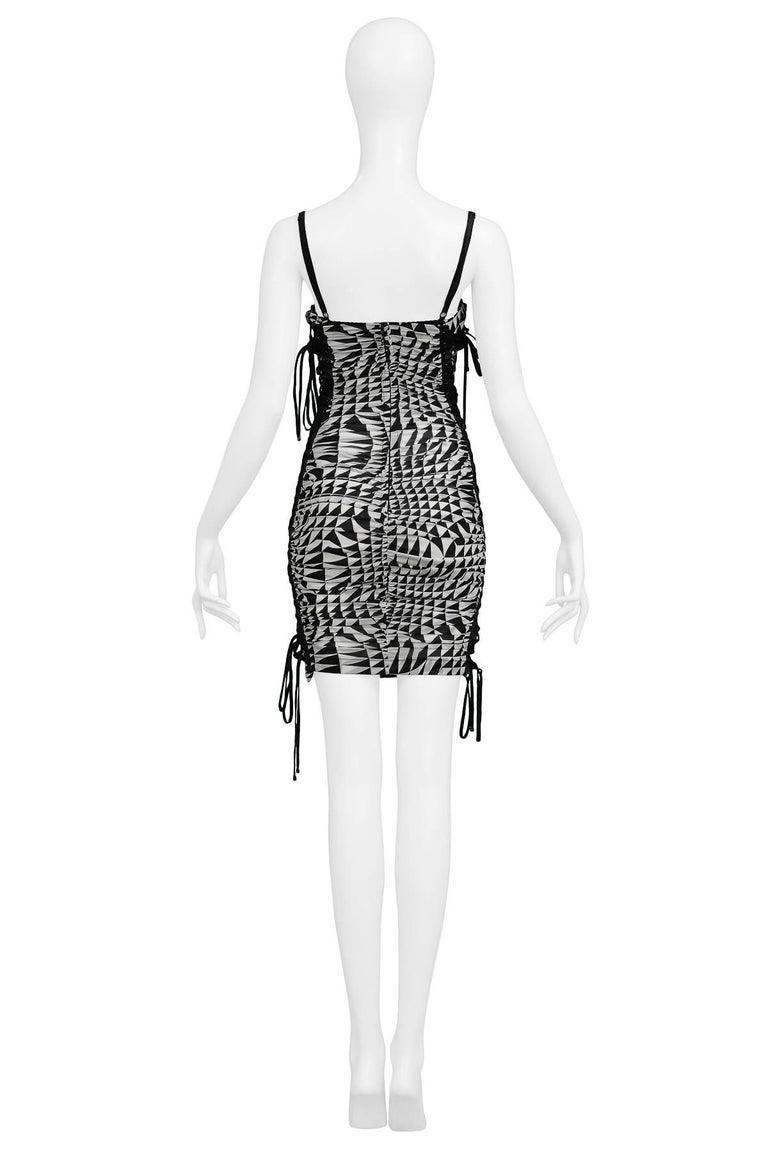 Runway Dolce & Gabbana Harlequin Corset Dress 2003 5