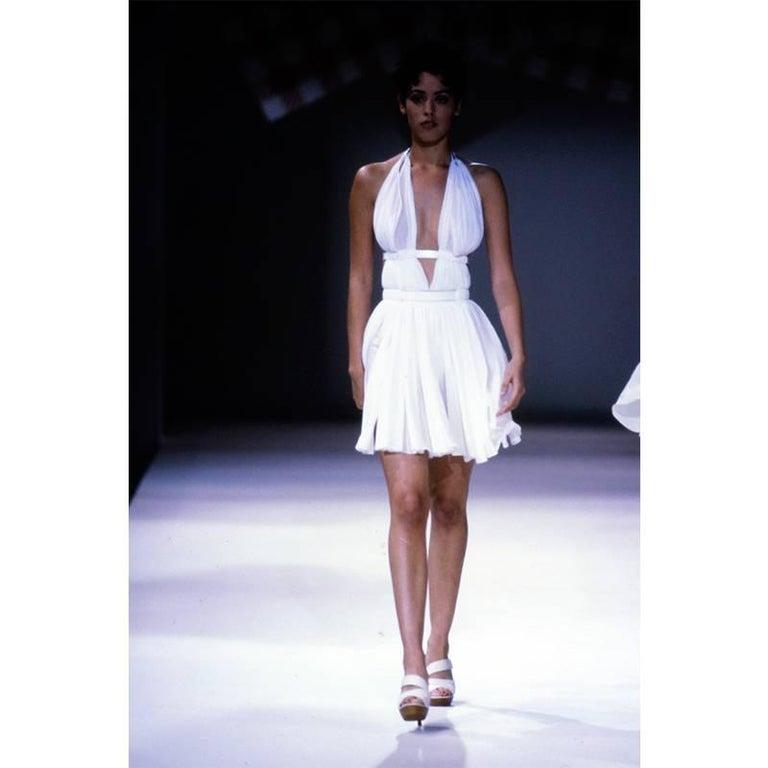 Alaia Vintage Goddess Mini Dress, 1991   For Sale 2