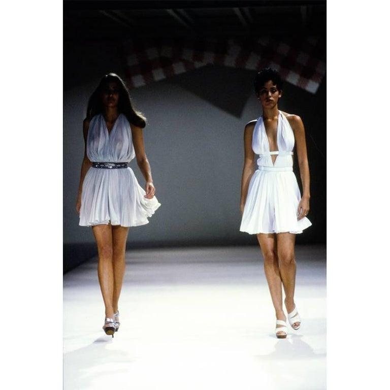 Alaia Vintage Goddess Mini Dress, 1991   For Sale 3