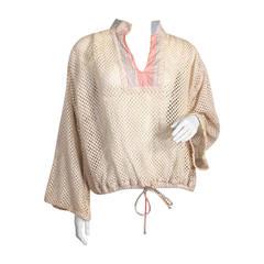 Koos Van Den Akker Crochet Pullover