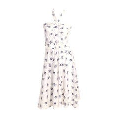 Guy Laroche Halter Print Sun Dress