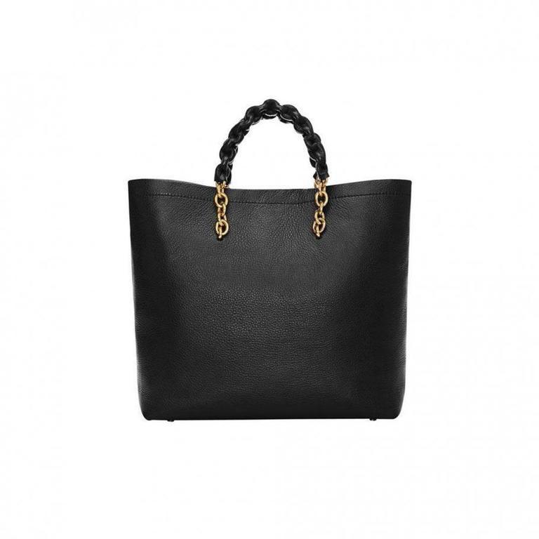 Tom Ford Black Leather Handbag 3