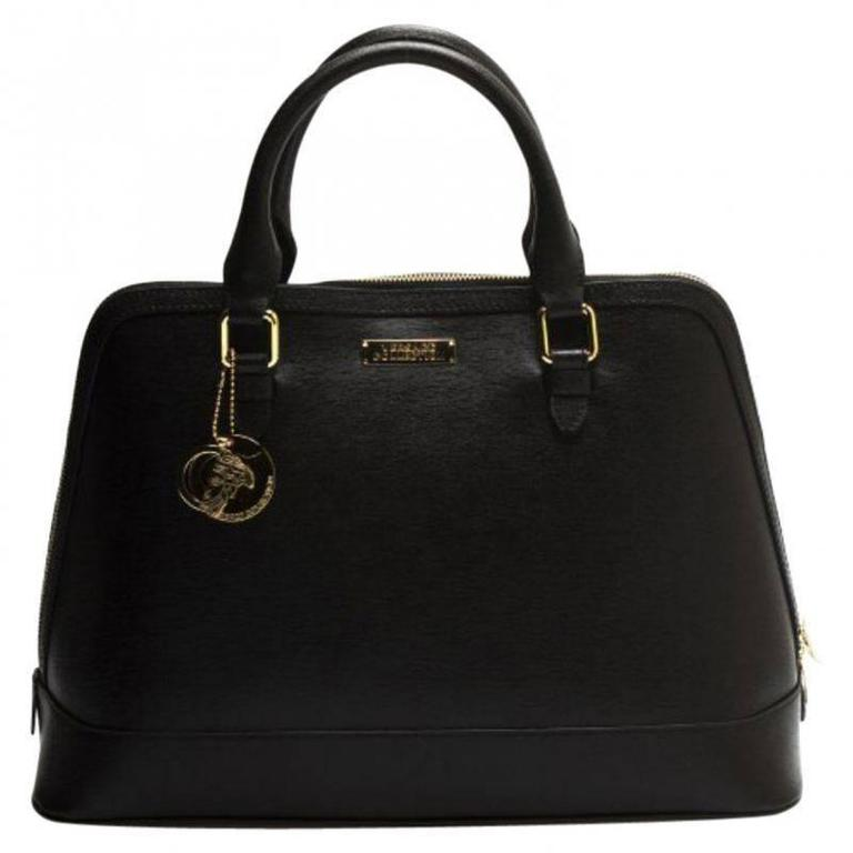 Versace Collection Leather Satchel 1