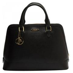 Versace Collection Leather Satchel