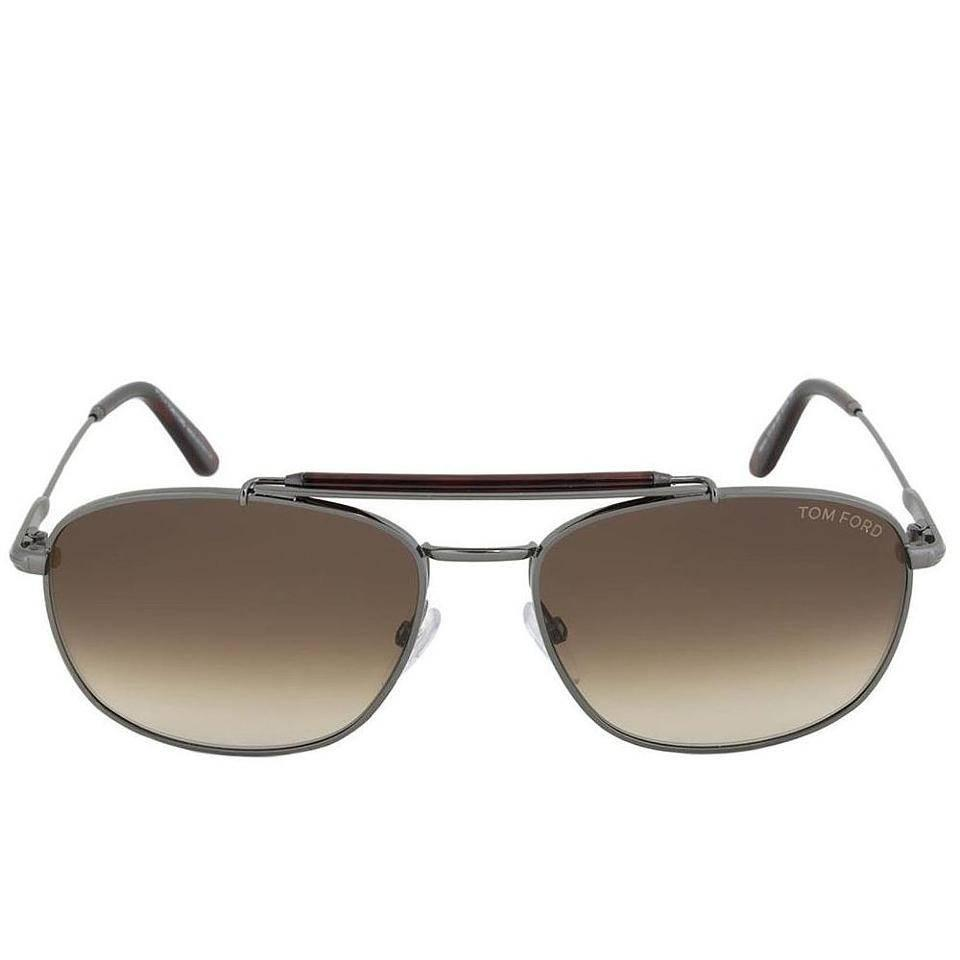 a11b499ebc3c Tom Ford Aviator Sunglasses Gunmetal For Sale at 1stdibs