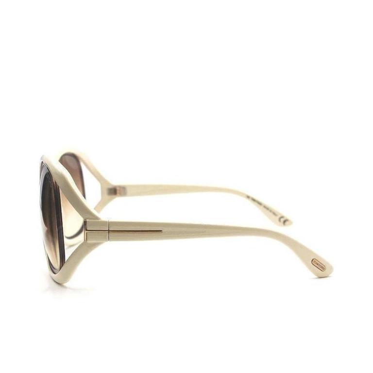 Tom Ford Oversized Sunglasses Cream 5