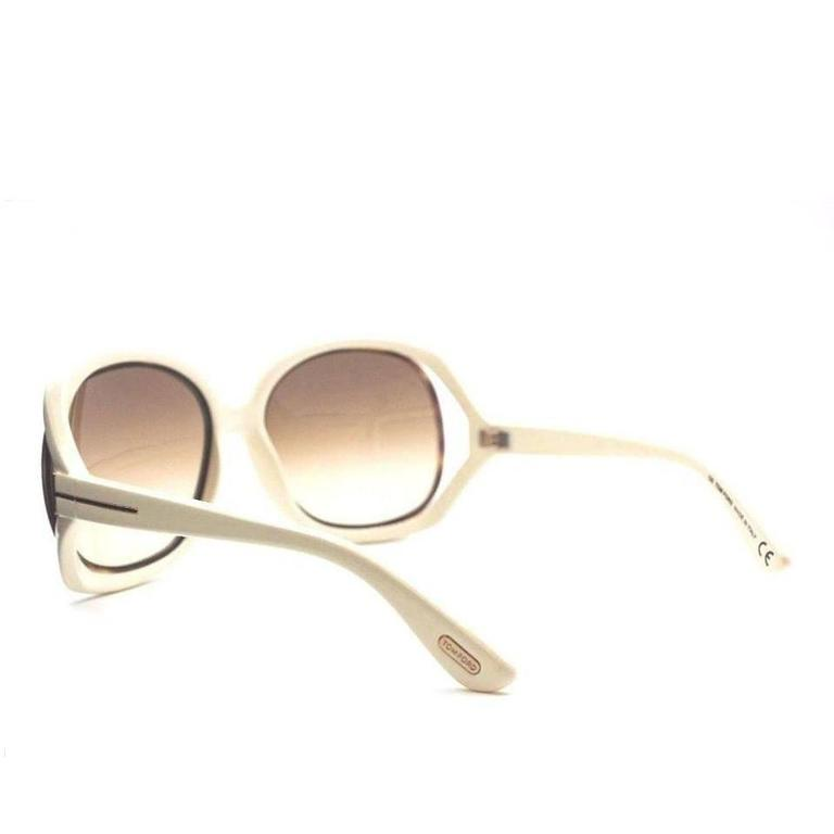 Tom Ford Oversized Sunglasses Cream 4