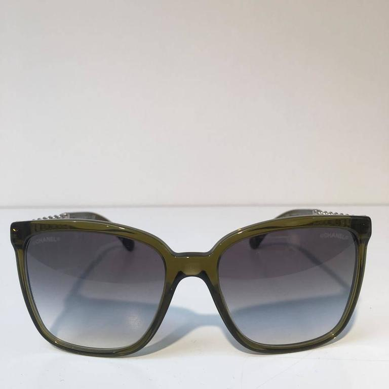 Chanel Sunglasses, Olive Green (CH5325)