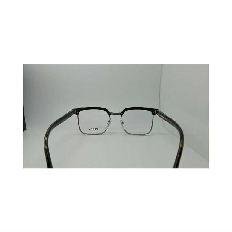 Prada Eyeglasses Gray Havana 4