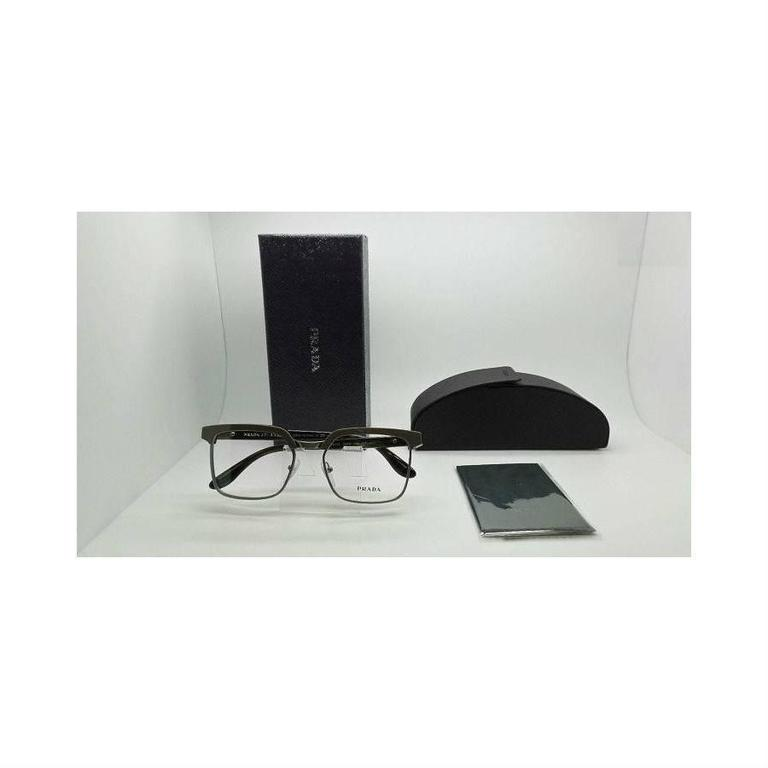 Prada Eyeglasses Gray Havana 6