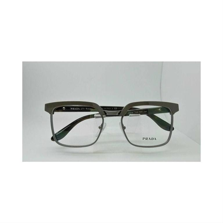 Prada Eyeglasses Gray Havana 2