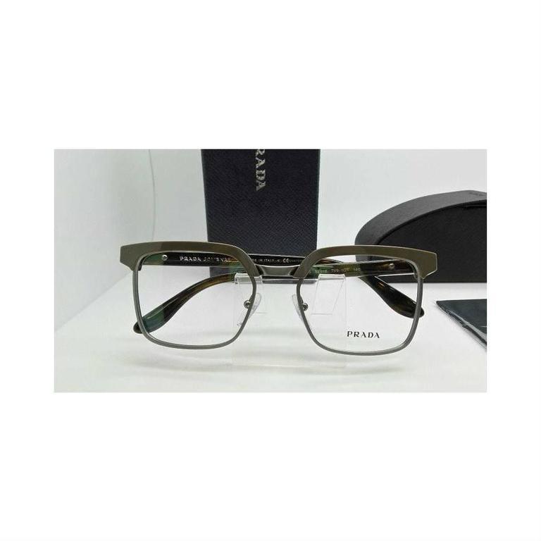 Prada Eyeglasses Gray Havana 7