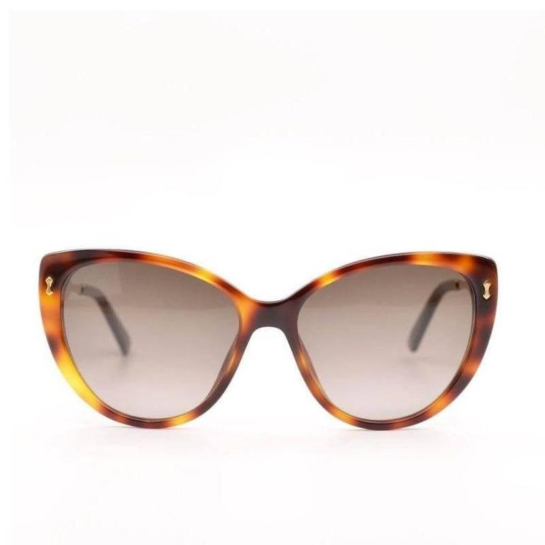 Gucci Sunglasses, Havana Gold