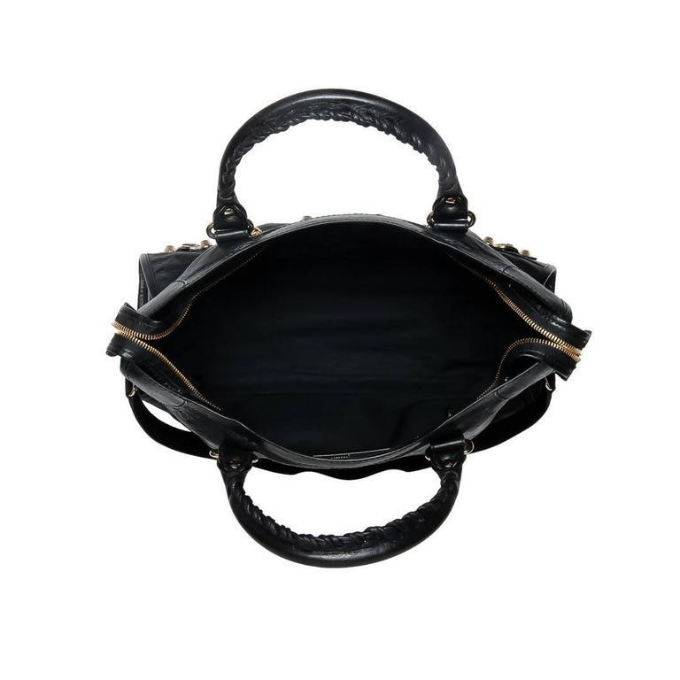 Balenciaga Giant 12 City Oro Black Bag 3