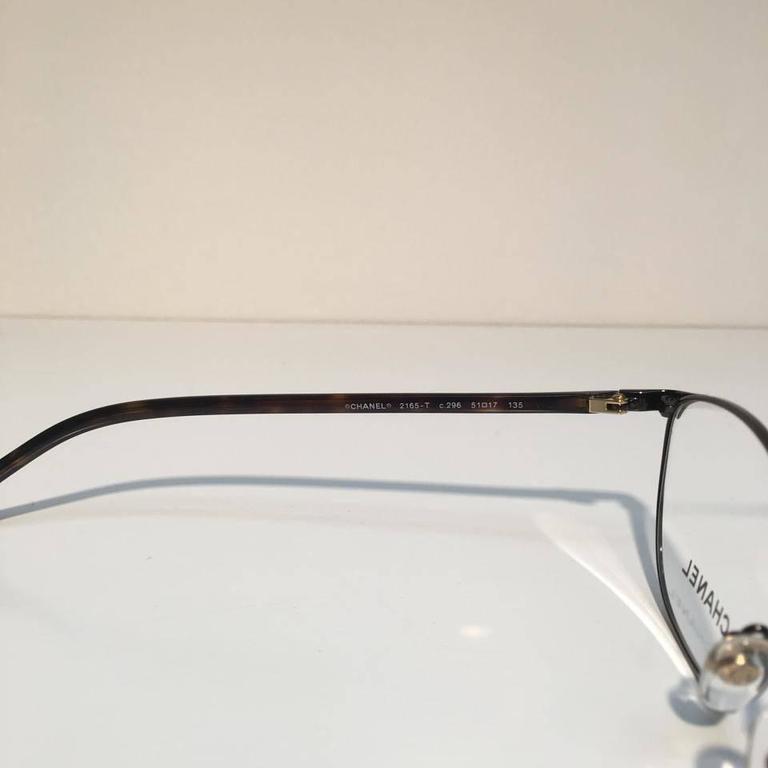 Chanel Eyeglasses, Dark Havana (CH2165T) 4