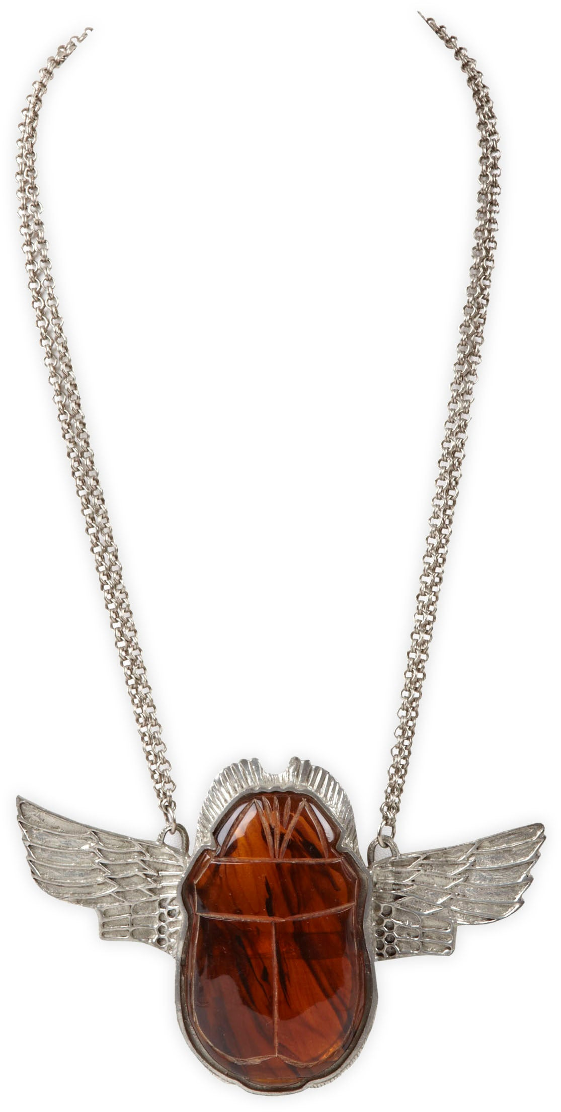 egyptian scarab necklace -#main