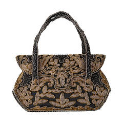 Elaborate French Beaded Bag