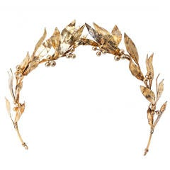 Neo Classical Laurel Wreath Diadem
