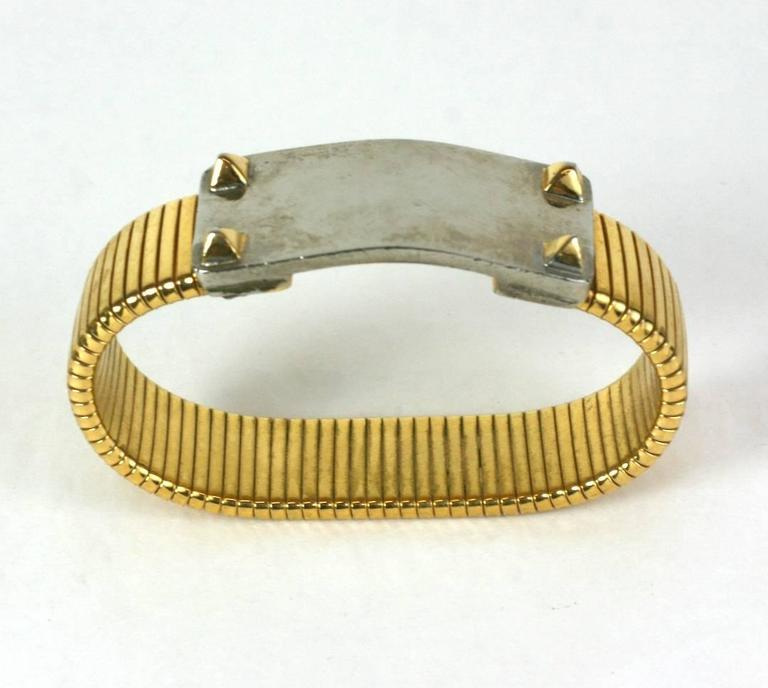 Studded Wristband Bracelet In Excellent Condition For Sale In Riverdale, NY