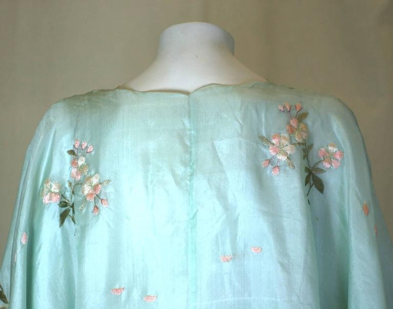Edwardian China Silk Butterfly Blouse For Sale 1