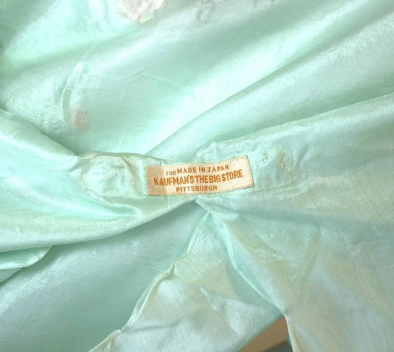 Edwardian China Silk Butterfly Blouse For Sale 3