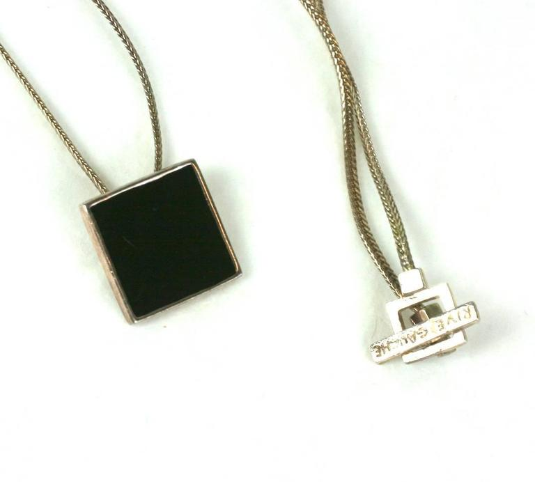 2ed8cdc5330 Hedi Slimane for Yves Saint Laurent Mens Necklace In Excellent Condition  For Sale In Riverdale,