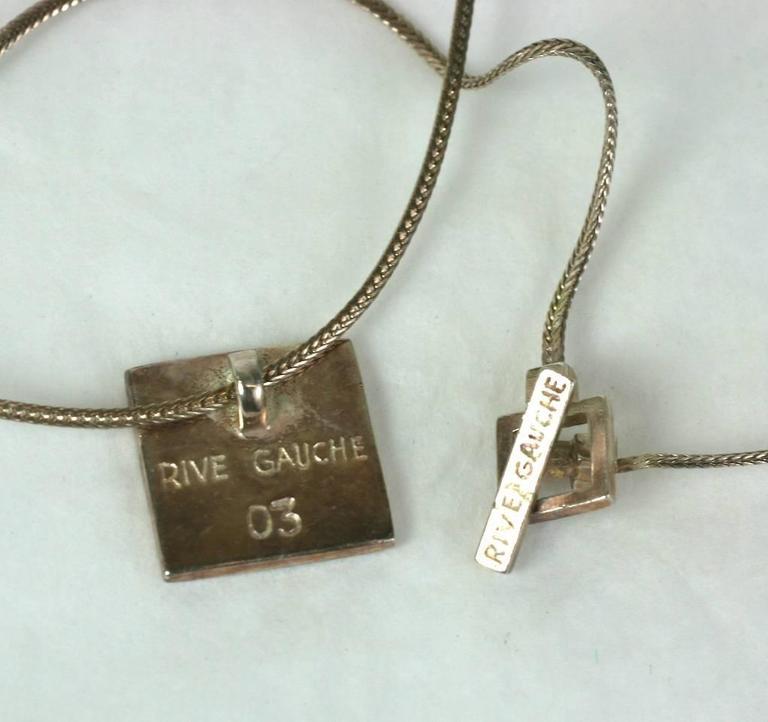 Hedi Slimane For Yves Saint Laurent Mens Necklace At 1stdibs