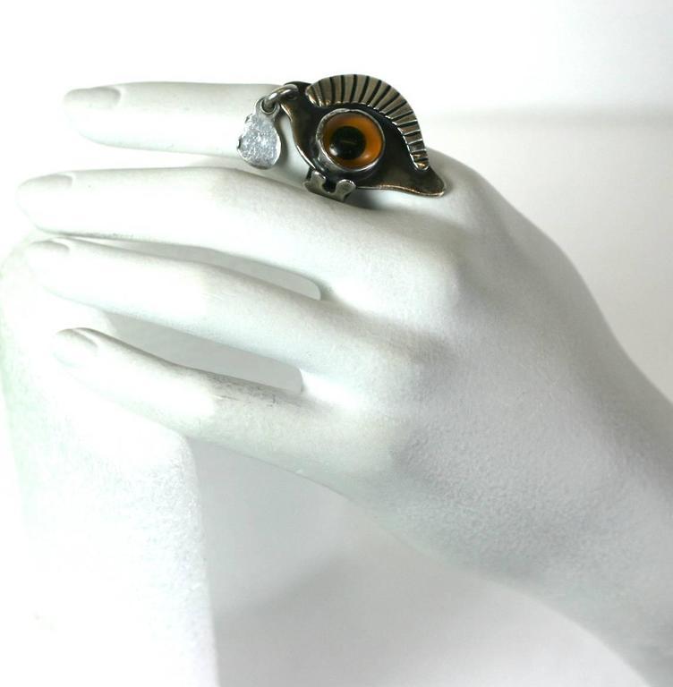 Sam Kramer Eye Ring For Sale 2