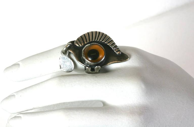 Sam Kramer Eye Ring For Sale 3