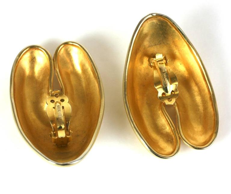 Women's Robert Lee Morris Matte Gold Ear Clips For Sale