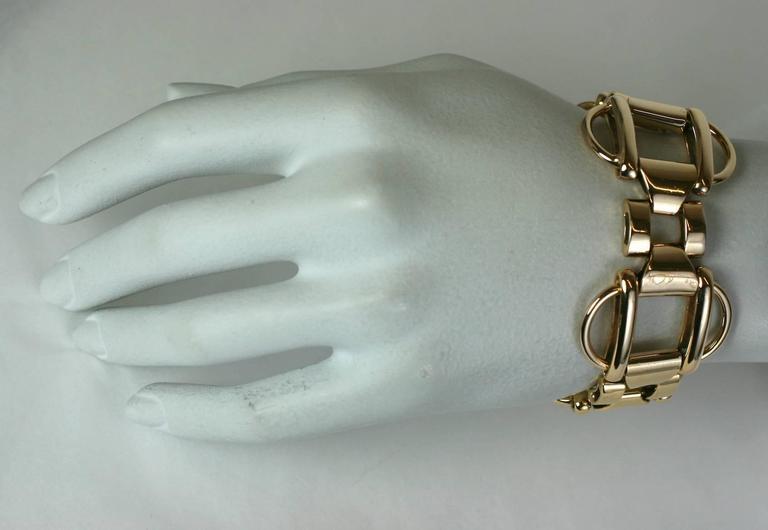 Women's 1940's Retro Link Bracelet For Sale