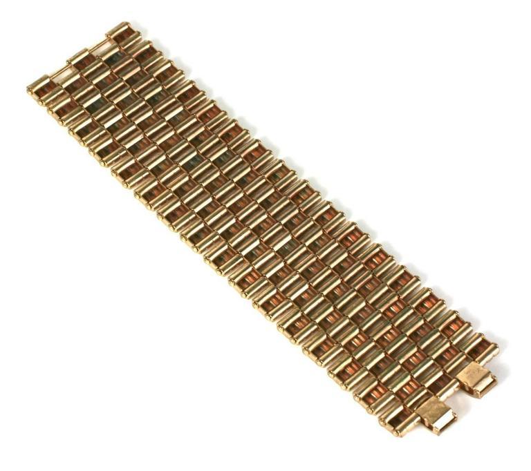 Kreisler Retro Link Bracelet In Excellent Condition For Sale In Riverdale, NY