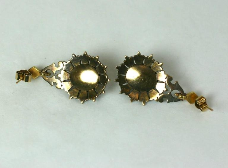 Elegant Victorian Seed Pearl Earrings 6