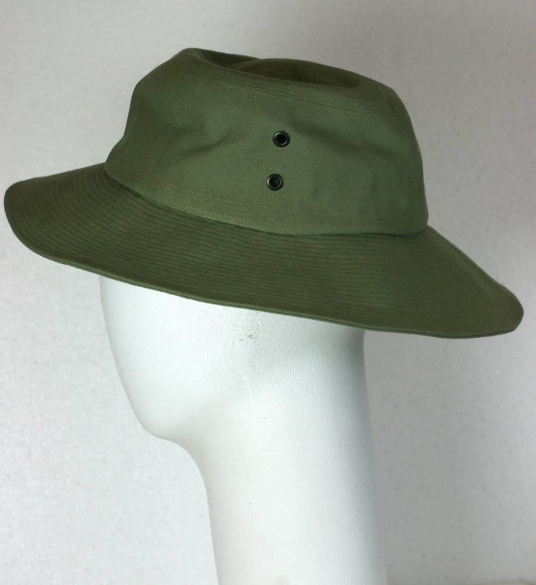 Yves Saint Laurent by Alber Elbaz Fisherman Hat  In Excellent Condition For Sale In Riverdale, NY
