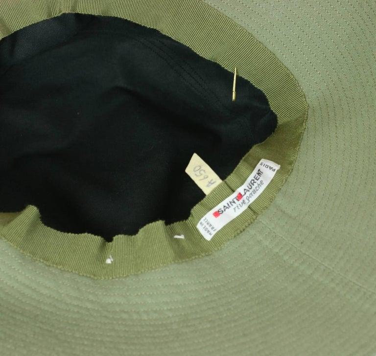 Yves Saint Laurent by Alber Elbaz Fisherman Hat  For Sale 3