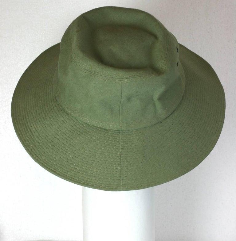 Yves Saint Laurent by Alber Elbaz Fisherman Hat  For Sale 4