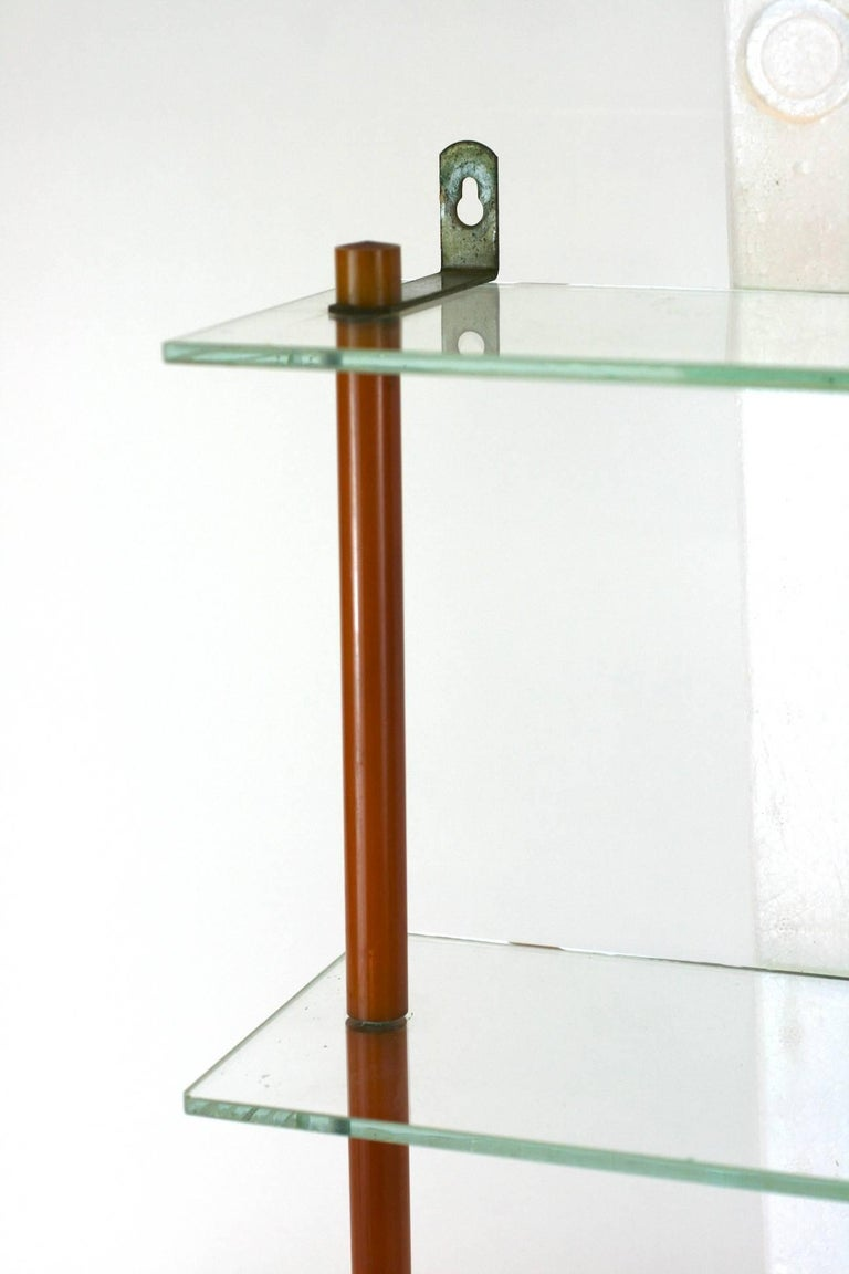 Art Deco Bakelite Shelf  In Excellent Condition For Sale In Riverdale, NY